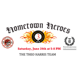 Theo's 3rd Annual Hometown Heroes BBQ Bash