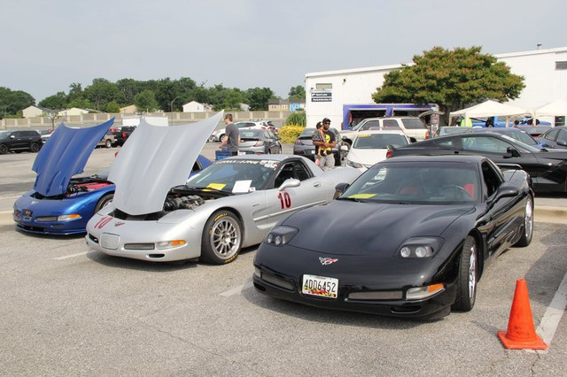 Track-Prepped Corvettes