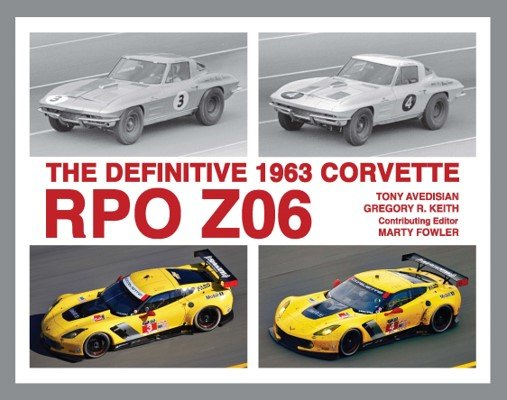 The Definitive 1963 Corvette RPO Z06 Book Cover