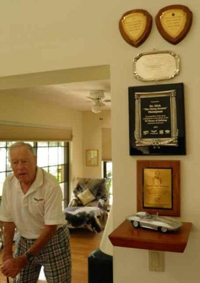 Dick Thompson and Trophies, 2012