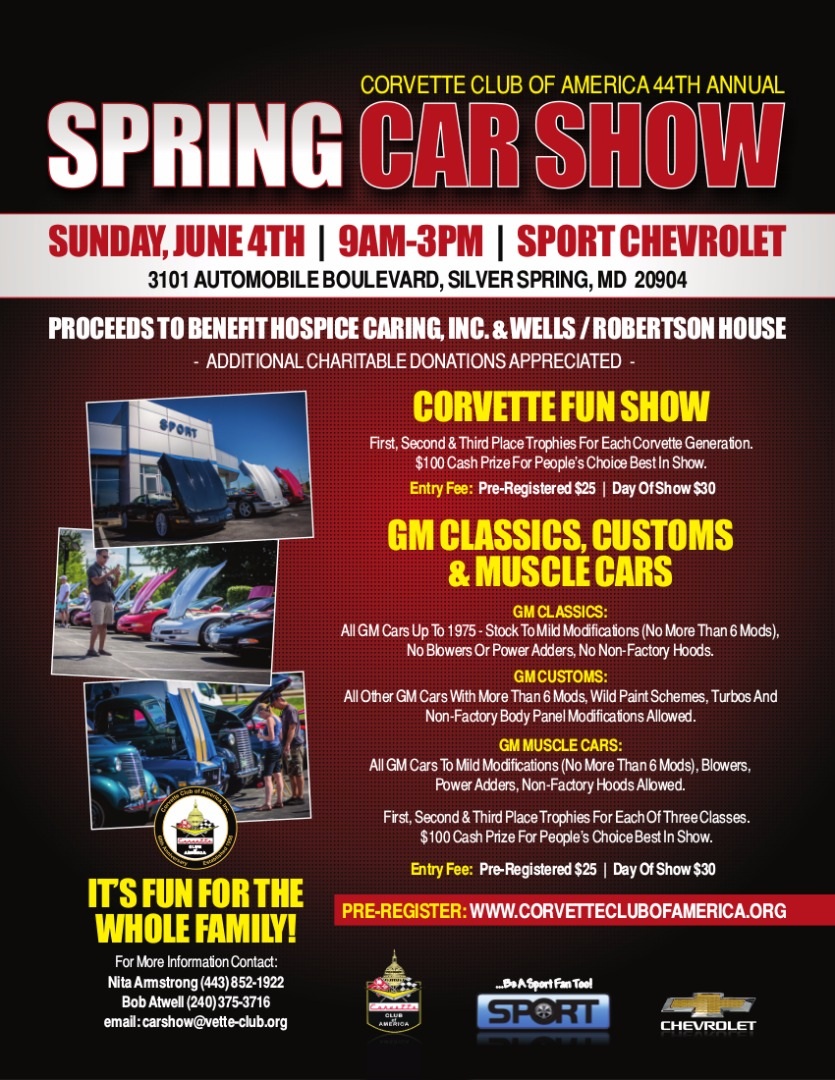 44th Annual CCA Spring Car Show Flyer, Page 2